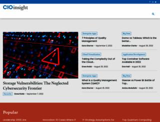cioinsight.com screenshot