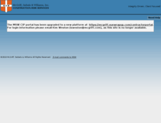cip.mcgriff.com screenshot