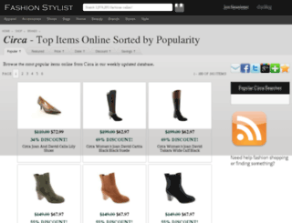circa.fashionstylist.com screenshot