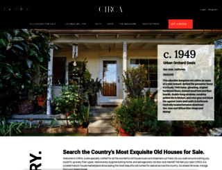 circaoldhouses.com screenshot