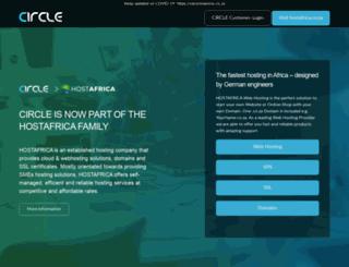 circle.co.za screenshot
