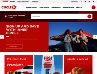 circlek.com screenshot