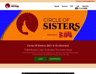 circleofsisters.com screenshot