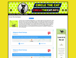 circlethecat.org screenshot