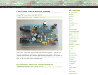 circuit-zone.com screenshot
