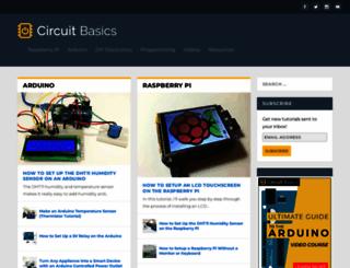 circuitbasics.com screenshot
