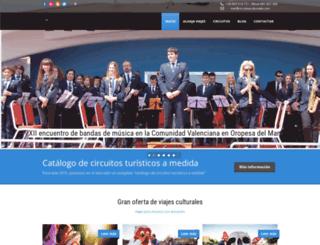 circuitosculturales.com screenshot