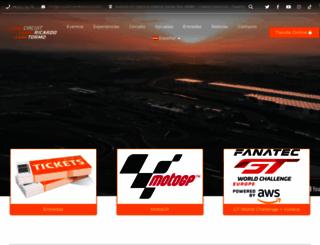 circuitvalencia.com screenshot