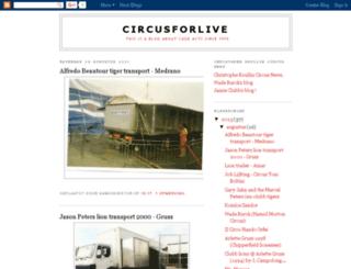 circusforlive.blogspot.com screenshot