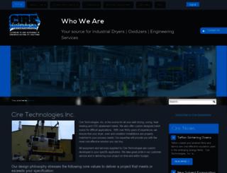 ciretechnologies.com screenshot
