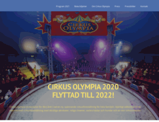 cirkusolympia.se screenshot