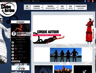 cirque-autour.com screenshot