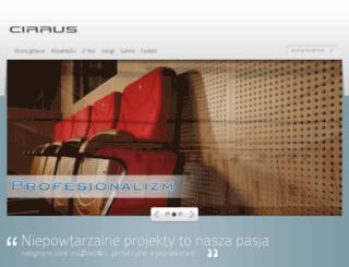 cirrus.waw.pl screenshot