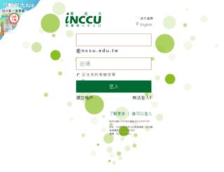 cis.nccu.edu.tw screenshot