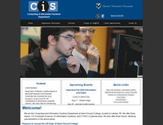 cis.stvincent.edu screenshot