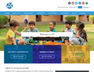cisb.org.in screenshot