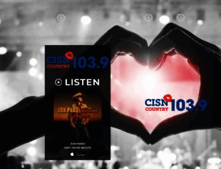 cisnfm.com screenshot
