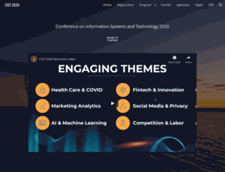 cistconf.org screenshot