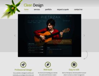 cisty-design.cz screenshot