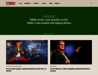 citarny.cz screenshot