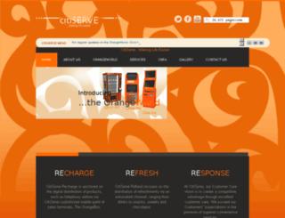 citi-serve.com screenshot