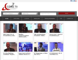 citibiz.tv screenshot