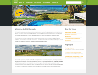 citiconsults.co.tz screenshot