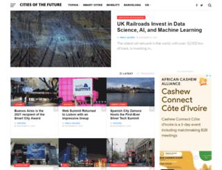 citiesofthefuture.eu screenshot