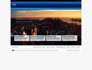 citifx.com screenshot