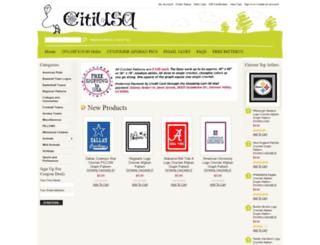 citiusa.com screenshot