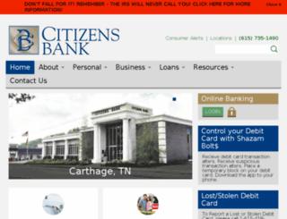 citizens-bank.net screenshot