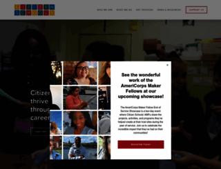 citizenschools.org screenshot
