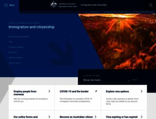 citizenship.gov.au screenshot