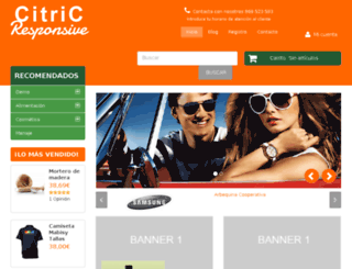 citric-responsive.mabisy.com screenshot