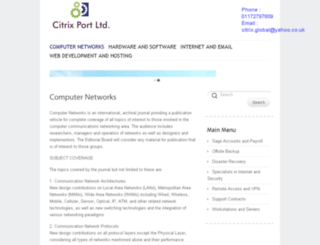citrixport.co.uk screenshot