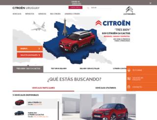 citroen.com.uy screenshot