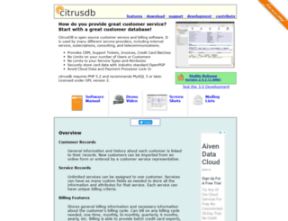 citrusdb.org screenshot