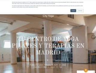 city-yoga.com screenshot