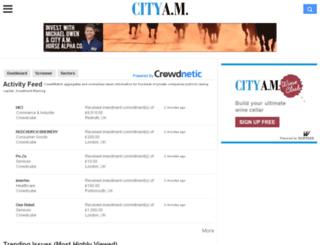 cityamcrowdwatch.com screenshot