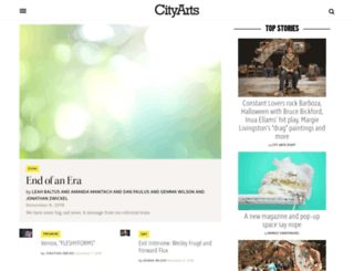 cityartsmagazine.com screenshot