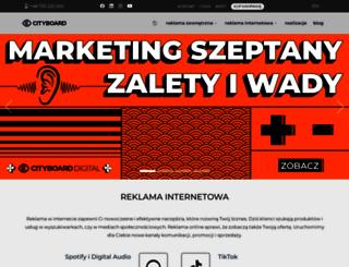 cityboard.pl screenshot