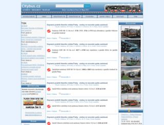 citybus.cz screenshot