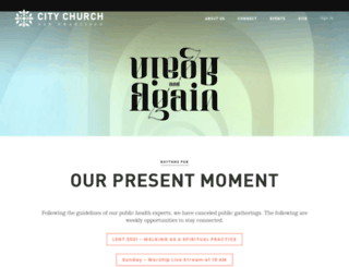 citychurchsf.org screenshot