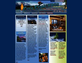 cityconcierge.com screenshot