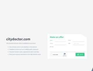 citydoctor.com screenshot