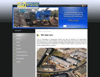 cityequip.com screenshot