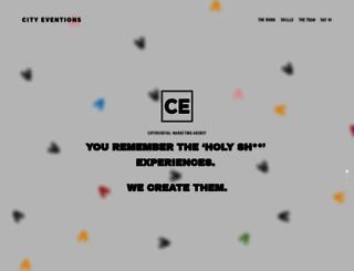 cityeventions.com screenshot