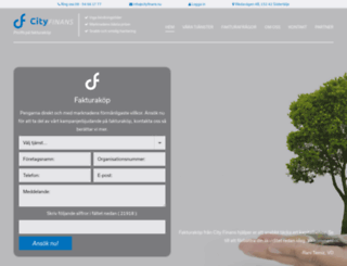 cityfinans.nu screenshot
