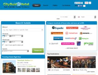cityguidehotel.com screenshot