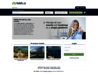 cityhotels.mice-access.com screenshot
